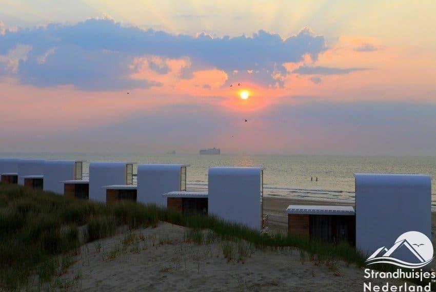 Zonsondergang Nieuwvliet duinzicht