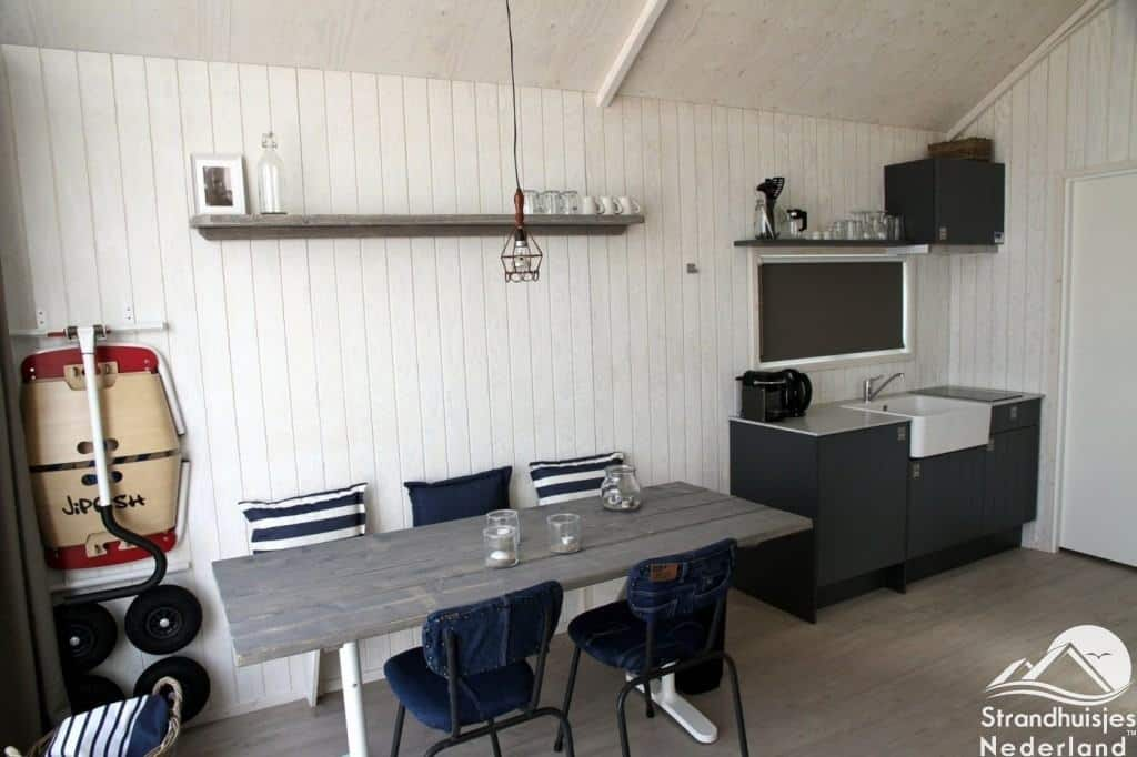 Interieur Haagse strandhuisjes Kijkduin