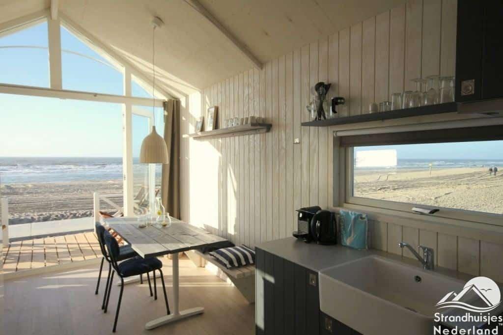 Interieur haagse strandhuisjes