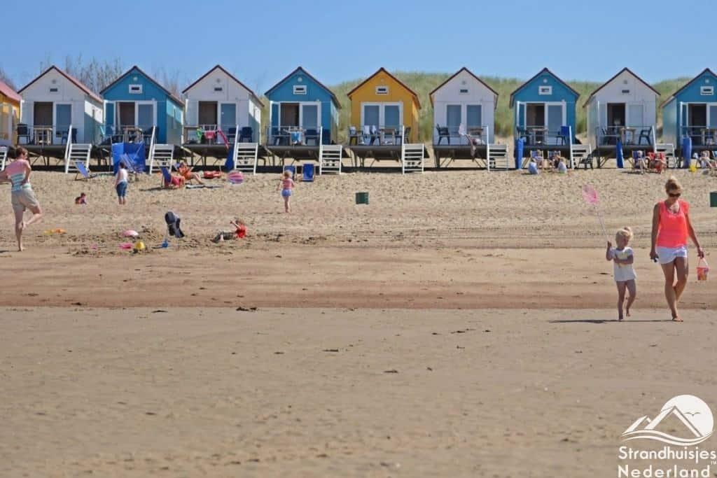 Strandhuisjes Vlissingen