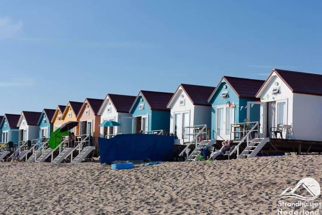 Strandslaaphuisjes Vlissingen