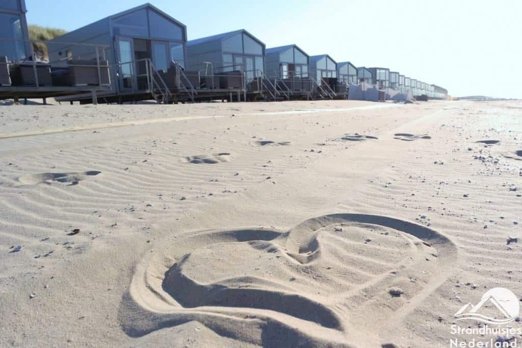 Herz im Sand, Strandhaus Slaapzand