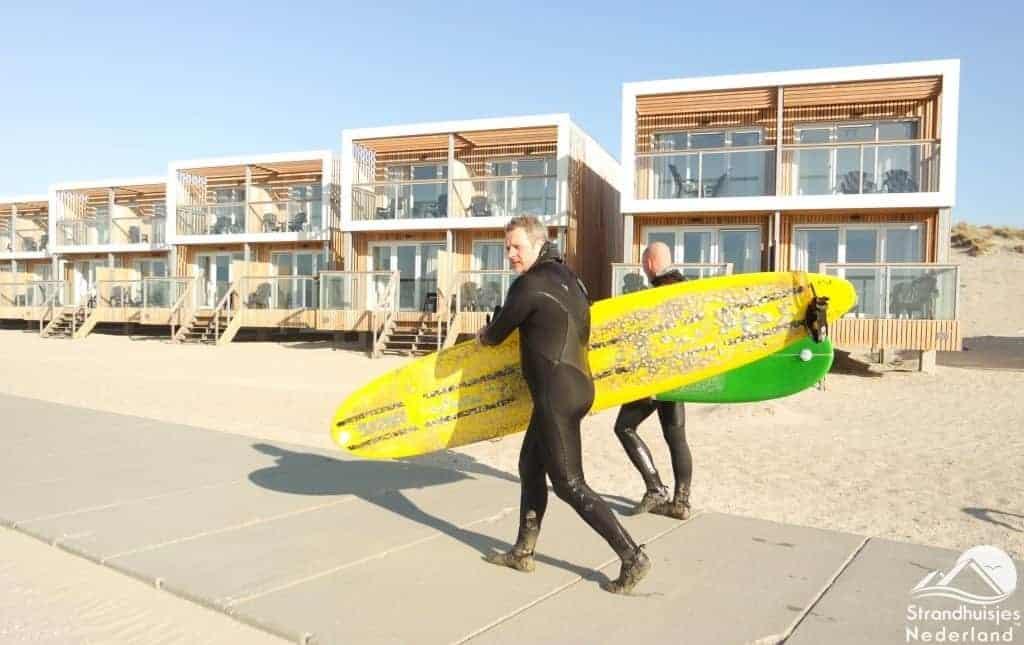 Surfers strandhuis Hoek van Holland