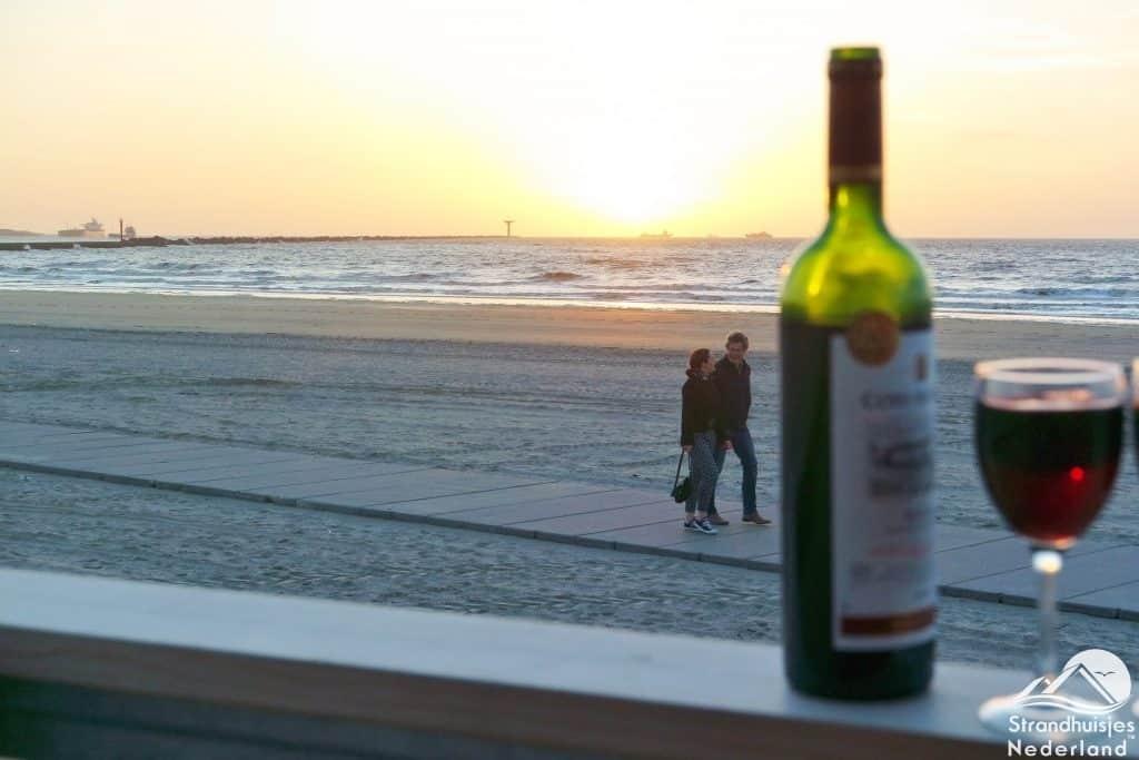 Strandterras strandhuis Hoek van Holland