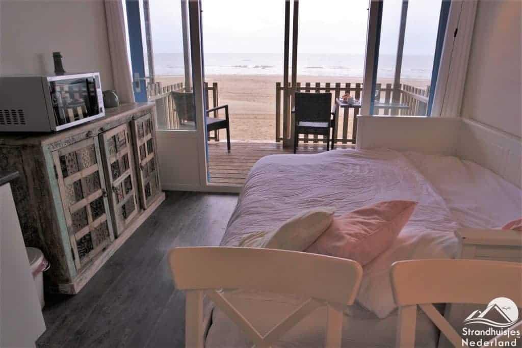 Interieur strandhuisje Wijk aan Zee