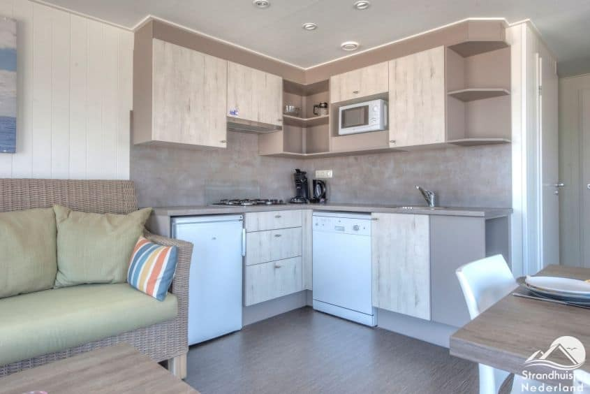 Keuken strandhuisje Kamperland
