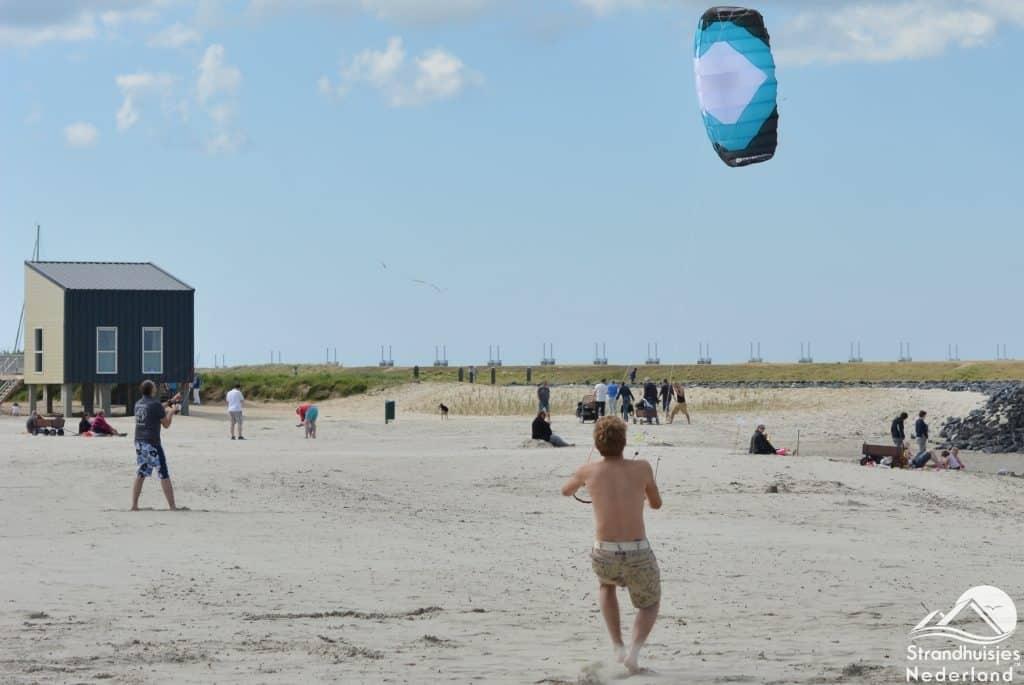 strand strandhuisjes Kamperland Zeeland