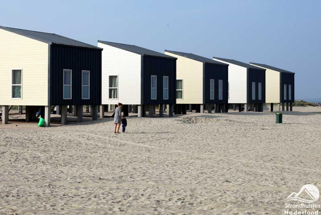 Grote strandhuizen 6 personen