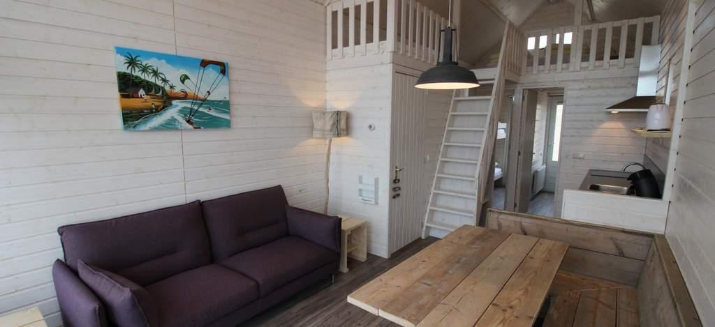 Interieur strandhuisje Surf en Beach, Katwijk