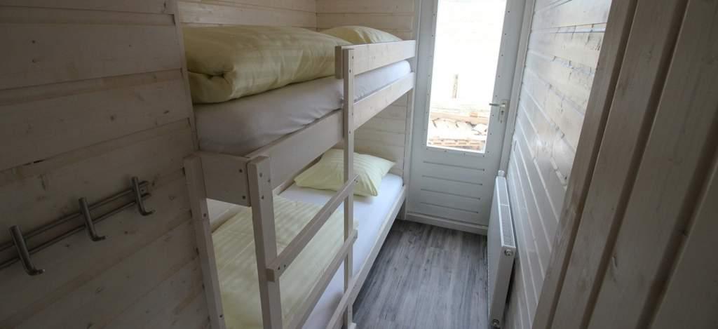 Stapelbed, strandhuisje Surf en Beach Katwijk