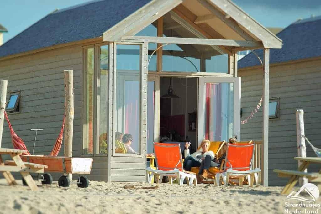 Strandhuisje Katwijk aan Zee - Paal 14