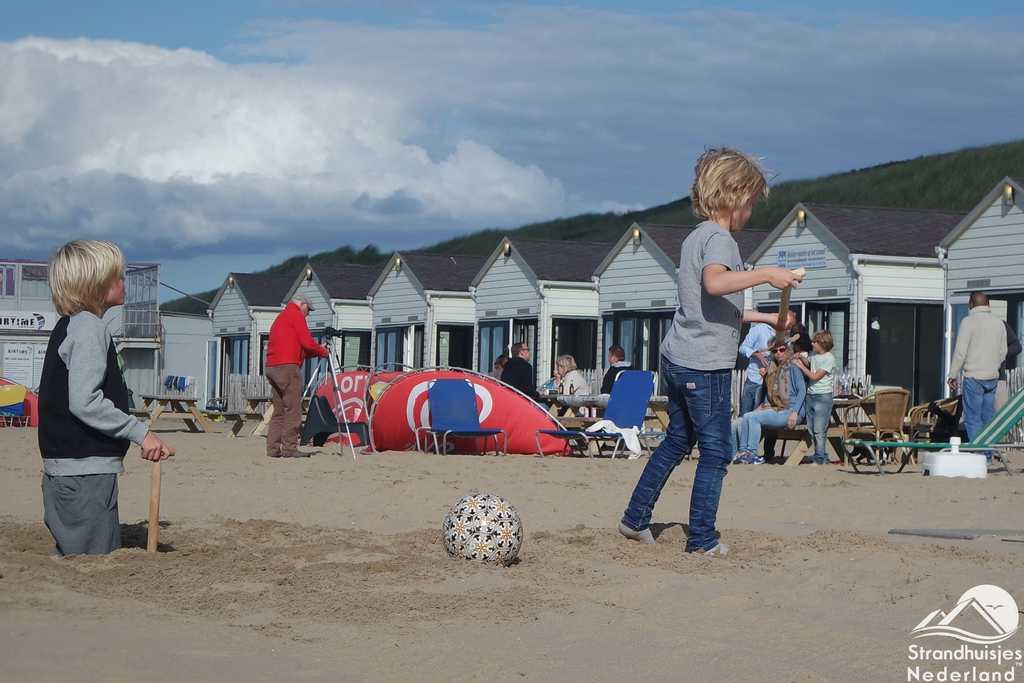 Strandhuisjes Logeren aan Zee