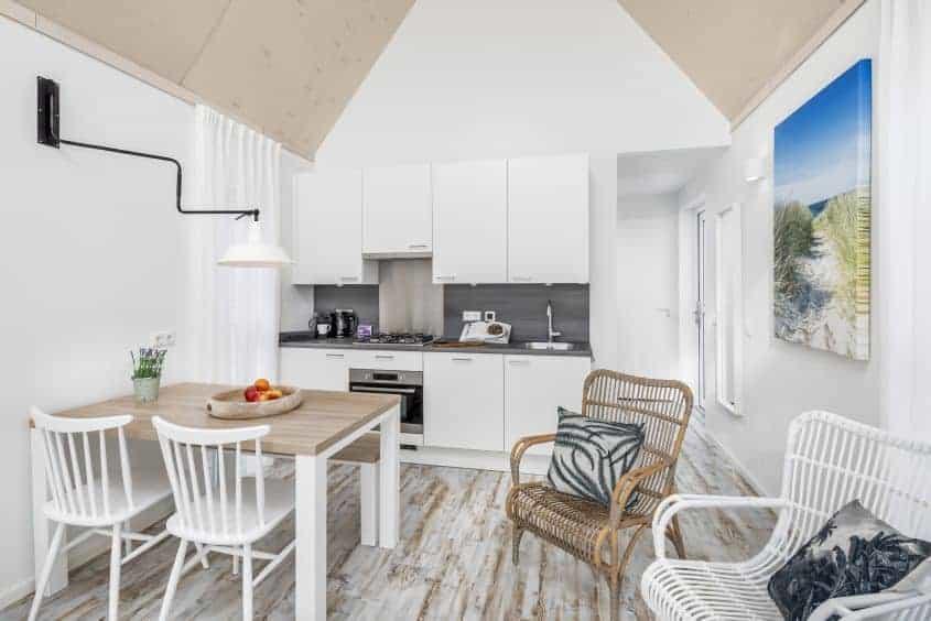 Interieur beach house Nieuwvliet