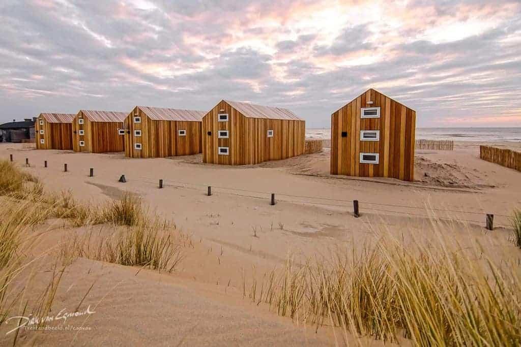 Strandhuysjes Katwijk aan Zee