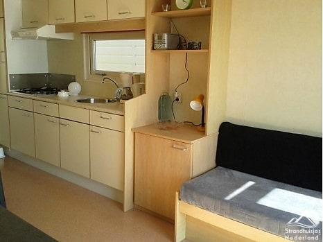 Interieur strandhuisje Vlissingen - Keuken 2