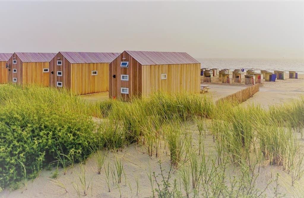 Strandhuisjes Katwijk aan Zee