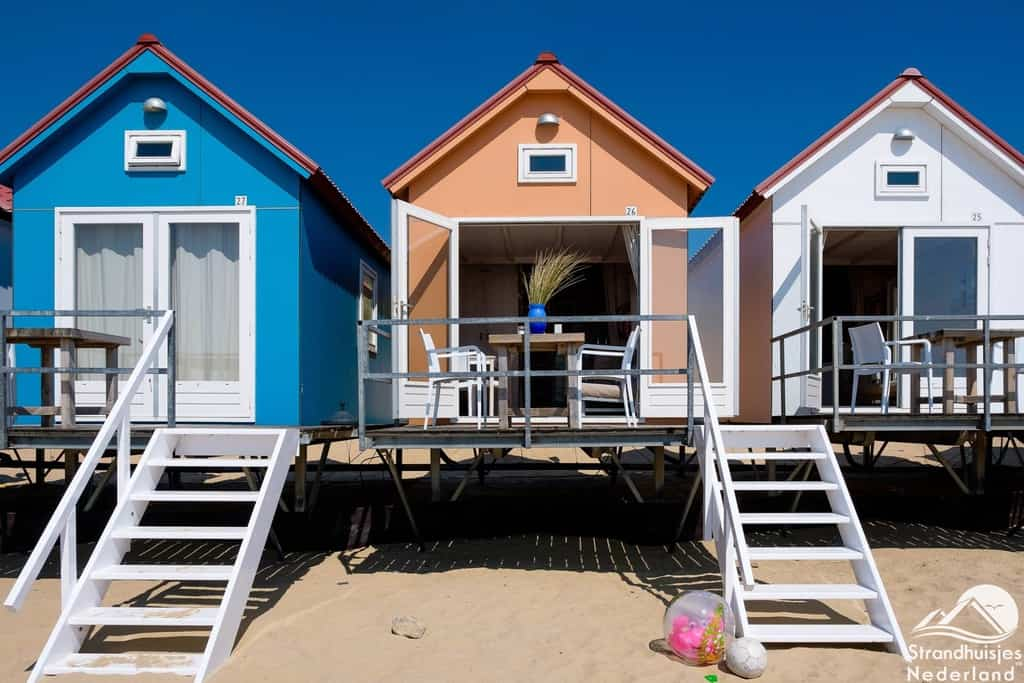 Strandhuisje Vlissingen Zeeland - klein