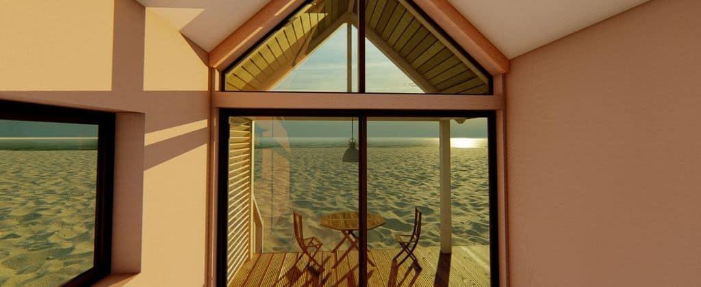 Strandhuisjes Vlissingen (1)