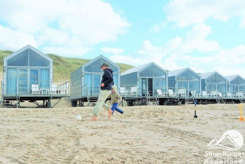 Lekker weg bij strandhuisjes Julianadorp